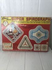 1969 Kenner's Super Spirograph Vintage In Box & Instructions