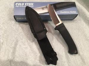 Cold Steel Pendleton Hunter Knife  #36LPSS - NOS - Japan