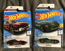 HOT WHEELS 2020 OLYMPIC GAMES TOKYO TOYOTA 2000 GT & FAST FELION lot of 2