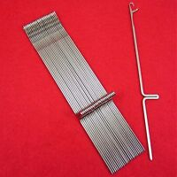 Neu 25 Nadeln für Strickmaschinen Brother KH260-KH270 Knitting Machine Needles