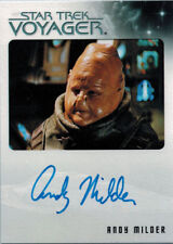 Quotable Star Trek Voyager Autograph Card Andy Milder as NAR