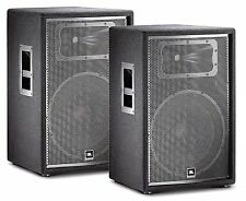 JBL JRX215 Two-Way Sound Reinforcement Loudspeaker System (PAIR)