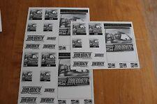 Coolbreeze  - 3 x Advertisement sheet  - Rap Hip Hop
