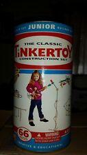 Hasbro TINKERTOY Classic Construction Set Junior Builder 66 piece 2006