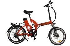 Green Bike USA GB500 motor 48ah/13v Battery Folding Bike RED