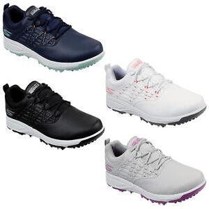 2021 Skechers Ladies Go Golf Pro 2 Shoes Waterproof Spiked Comfort Lightweight