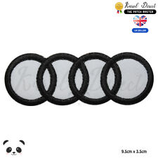 Audi Motor Car Brand Logo Embroidered Iron On Sew On Patch Badge For Clothes etc