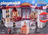 Playmobil 9451 Vedes Exclusiv Museumsüberfall Statue Krone mit Alarmfunktion NEU