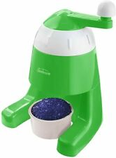 Sunbeam Manual Snow Cone Maker Ice Shaver - Green NEW IN BOX