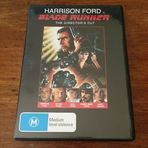 BLADE RUNNER The Director's Cut  DVD R4 Like New! FREE POST