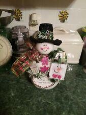 Social Worker Snowman