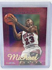 1995-96 SkyBox NBA Hoops Michael Jordan 'Power Palette' Rare Foil Insert