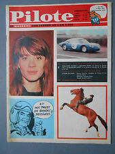 ► PILOTE N°185/1963  FRANCOISE HARDY - GOLF DROUOT - GRAHAM HILL - BROTHERS FOUR