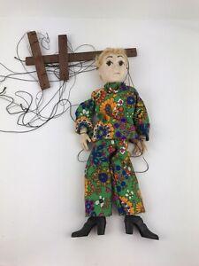 RARE Vintage Hazelle's Marionette Woman Puppet