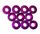 203000062 5mm M5 Purple Alloy Aluminium Nylon Washer x 10