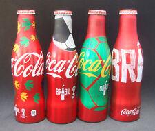 4 Coca WORLD CUP 2014 Aluminum BottleThailand Limited Alu Aluminium(Empty)