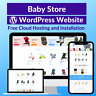 Baby Store Amazon Business Affiliate Website Free Installation+Hosting
