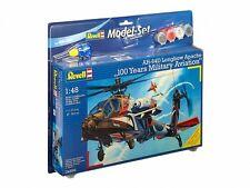 Revell 1:48 04896 AH-64D Longbow Apache 100 Años avitation Kit Modelo