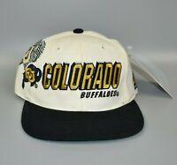 Colorado Buffaloes Vintage 90's Sports Specialties Laser Shadow Snapback Cap Hat