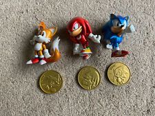 Sonic 25th Anniversary Figures And Coin Set - Sonic, Tails & Knuckles