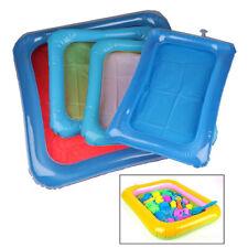 Kid Sand Tray Indoor Magic Play Sand Kinderspielzeug Raum Aufblasbares Zube BOD