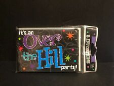 Amscan Over the Hill Birthday- Party Invitations - 8 ct New