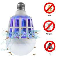 2 in 1 Light Zapper LED Light Bulb Bug Mosquito Fly Insect Killer Bulb Lamp Home