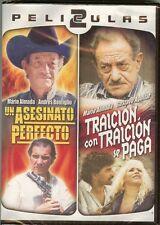 UN ASESINATO PERFECTO / TRACION CON TRAICION SE PAGA - PELICULAS 2 - DVD - NEW