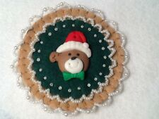 (50) Bear decorations, ornaments, christmas decorations,