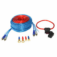 10Ga Wiring Kits For Car Auto Amplifier Speaker Power Cable Fuse Holder Wk-600