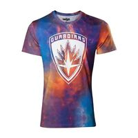 Guardians Volume 2 Partout Galaxy T-Shirt - Multicolore L.Taille ( TS571037GOG-L