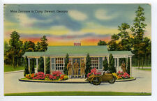 Camp Stewart GA, Main Entrance, guards, three wheel vehicle, linen