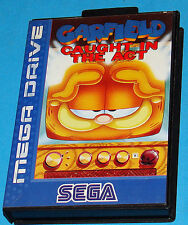 Garfield Caught in the Act - Sega Megadrive MD - PAL