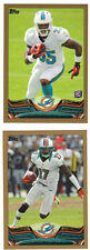 2013 Topps Gold #/2013 Mike Wallace Miami Dolphins #393