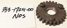Nos Yamaha 353-17251-00 RD60 RX50 YZ80 YSR50 YSR80 5th GEAR wheel Transmission