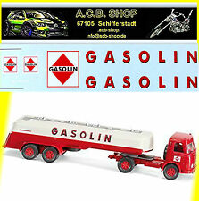 Gasolin Tank Truck or Trailer 1:24 Decal Abziehbild