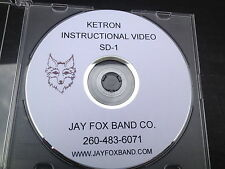 Ketron SD-1  Instructional DVD w/rewritten owners manual