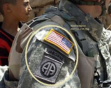 KANDAHAR TALIZOMBIE© WHACKER SPECIAL FORCES ACU 3PATCH US Flag 82nd ABN insignia