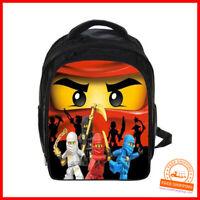 Ninjago  Kinderrucksack Schule Sport Tasche Federmappe Federschachtel Kinder