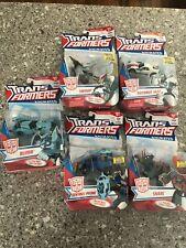 Transformers Animated Series Swoop, Blurr, Jazz, Snarl, Sentinel Prime