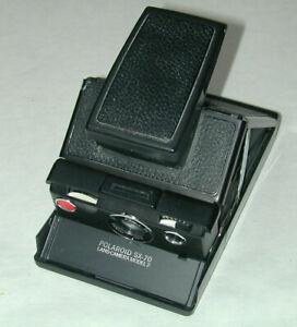 POLAROID SX-70 model 2 noir photo photographie instantanée