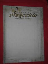 AUSONIA- PINOCCHIO- storia di un bambino- WHITE EDITION-CARTONATO- LINEACHIARA