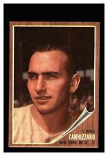 1962 Topps #26 Chris Cannizzaro Mets EX