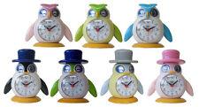 Trevi SL3045  Lilla & Lallo Bright Coloured Bird Design Kids Bedside Alarm Clock