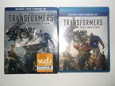 Transformers: Age of Extinction (Blu-ray/DVD, 2014, 2-Disc Set) BRAND NEW