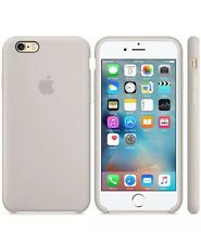 NEW - Genuine Silicone Case for Apple iPhone 6s / 6 in Stone