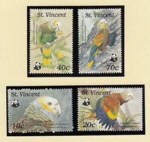 (90637) St Vincent MNH WWF Parrot 1989