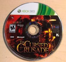 Cursed Crusade (Microsoft Xbox 360, 2011) DISC ONLY 6282