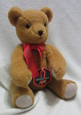 Deans Childsplay Toys Norman Rockwell jointed growling plush bear 17-18""