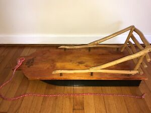 "Mountain Boy Sledworks, ""The Bambino"" - infant/child sled/sleigh Wooden Sled"